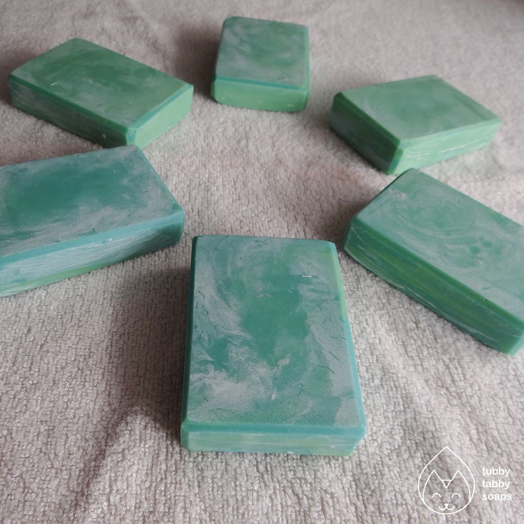Christmas Tree (pine) handmade soap by Tubby Tabby Soaps