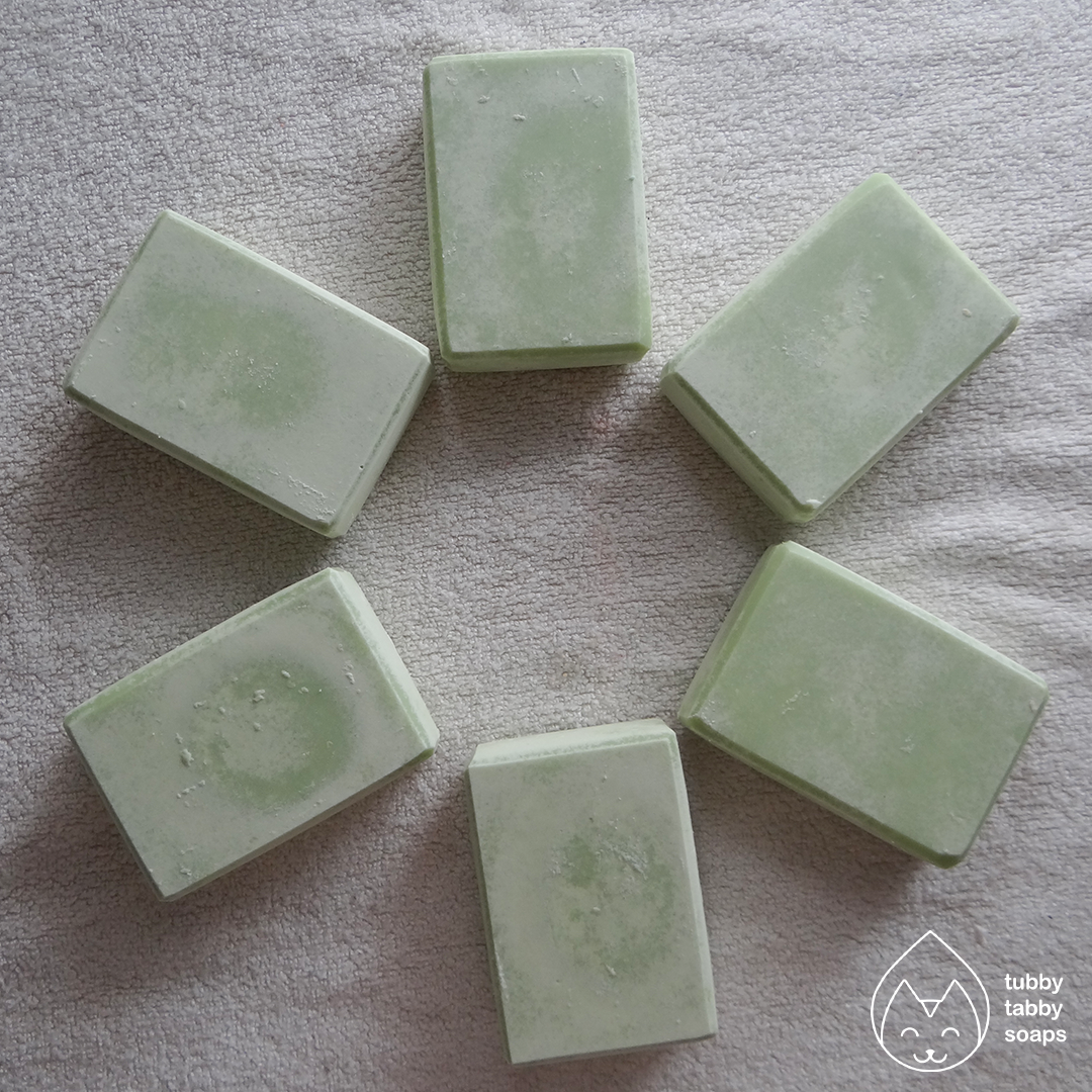 Grow a Pear (ambience collection) handmade cold process soap by Tubby Tabby Soaps