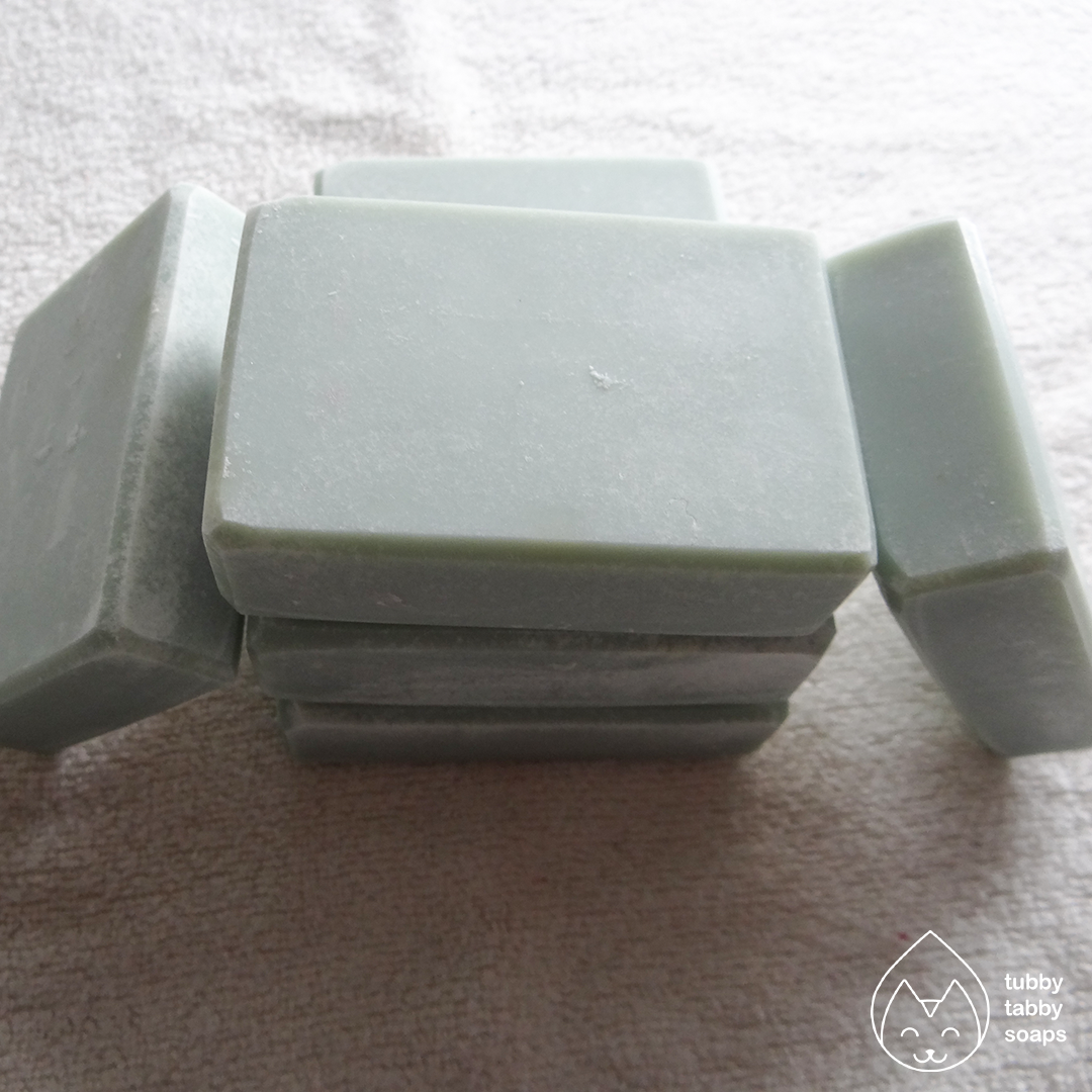 Lemon Lavender (au naturel collection) handmade cold process soap by Tubby Tabby Soaps