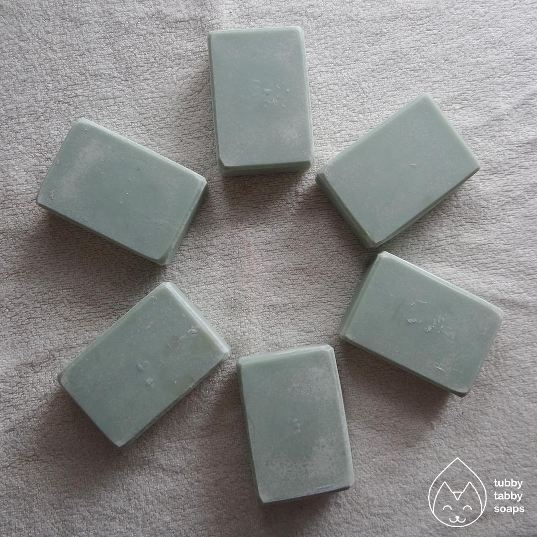 Lemon Lavender (au naturel) handmade cold process soap by Tubby Tabby Soaps