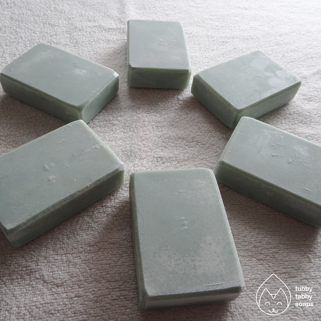 Lemon Lavender (natural collection) handmade cold process soap by Tubby Tabby Soaps