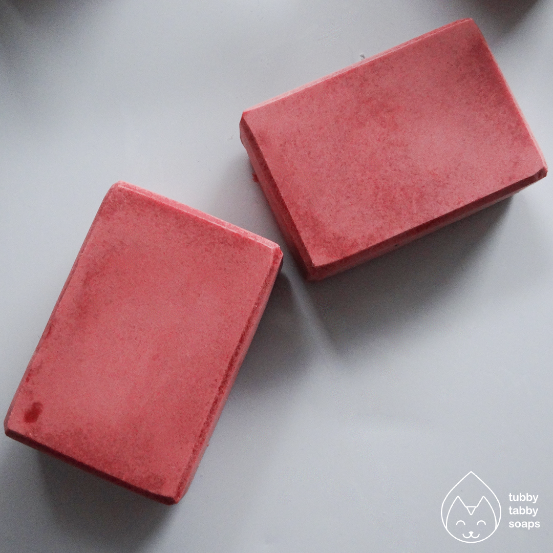 Cherry Soda (Classic Diner collection) handmade cold process soap by Tubby Tabby Soaps