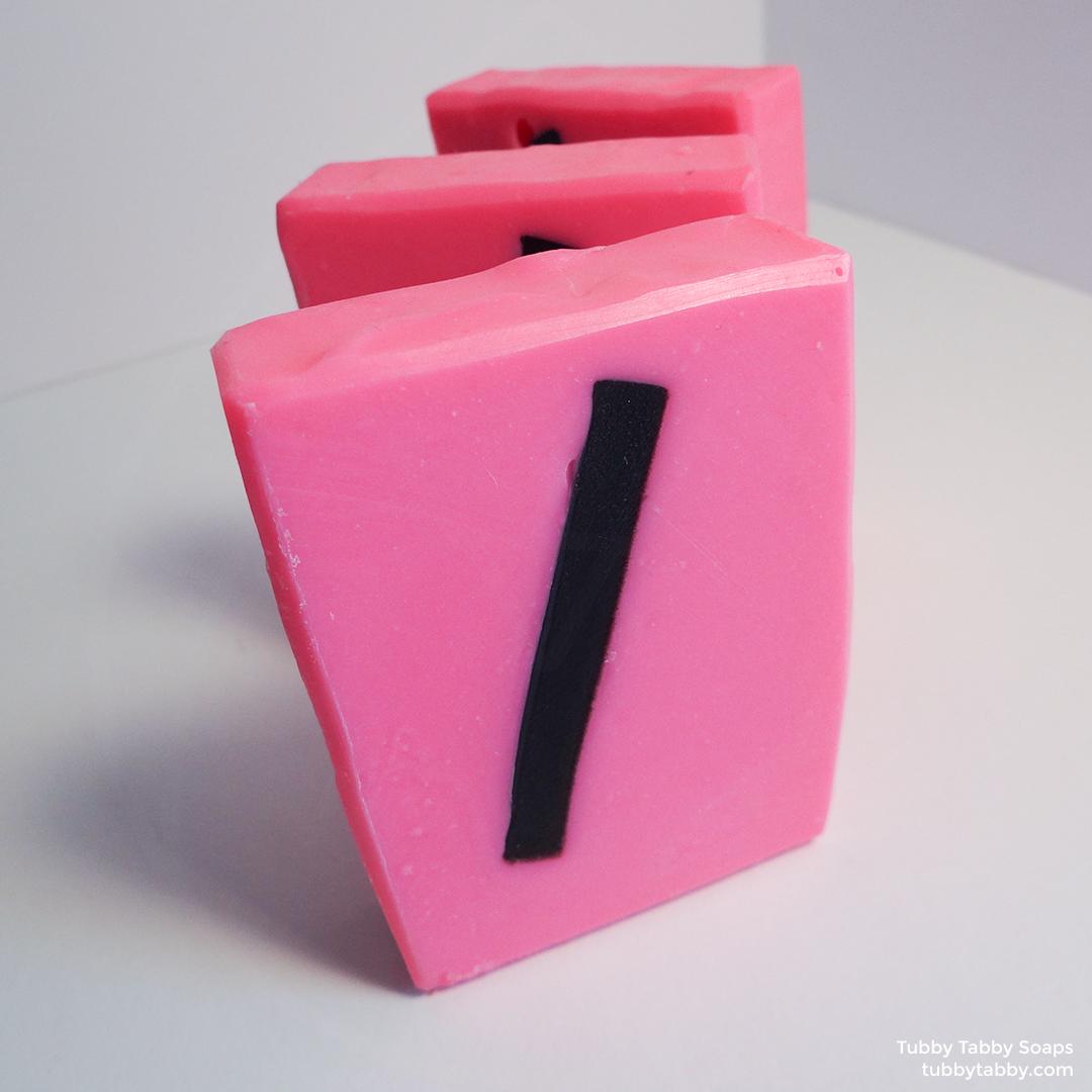 Slash artisanal handmade soap (small batch cold process soap) by Tubby Tabby Soaps in Ottawa