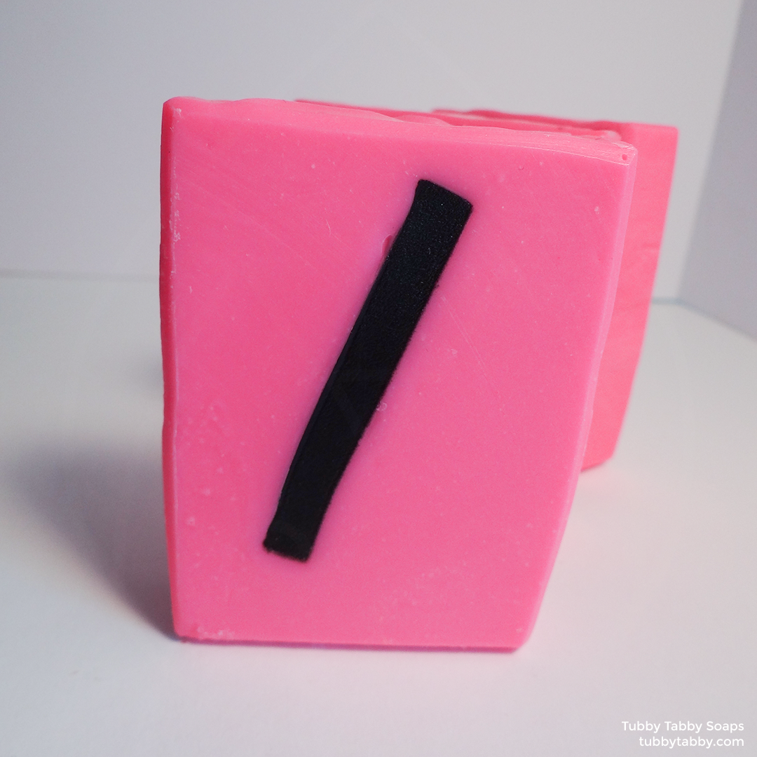 Slash handmade soap (small batch cold process soap) by Tubby Tabby Soaps in Ottawa