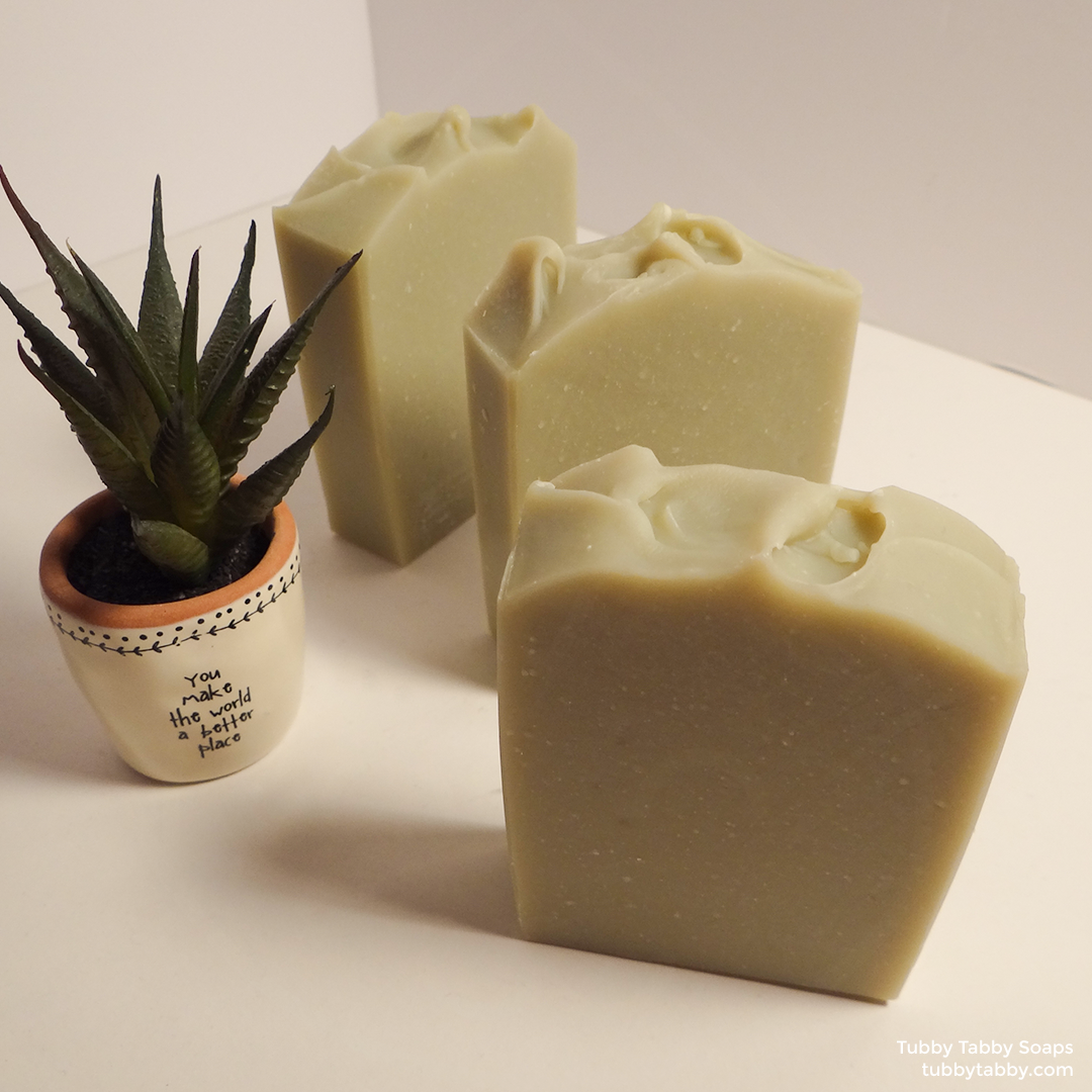 Clay Bay artisan handmade soap by Tubby Tabby Soaps