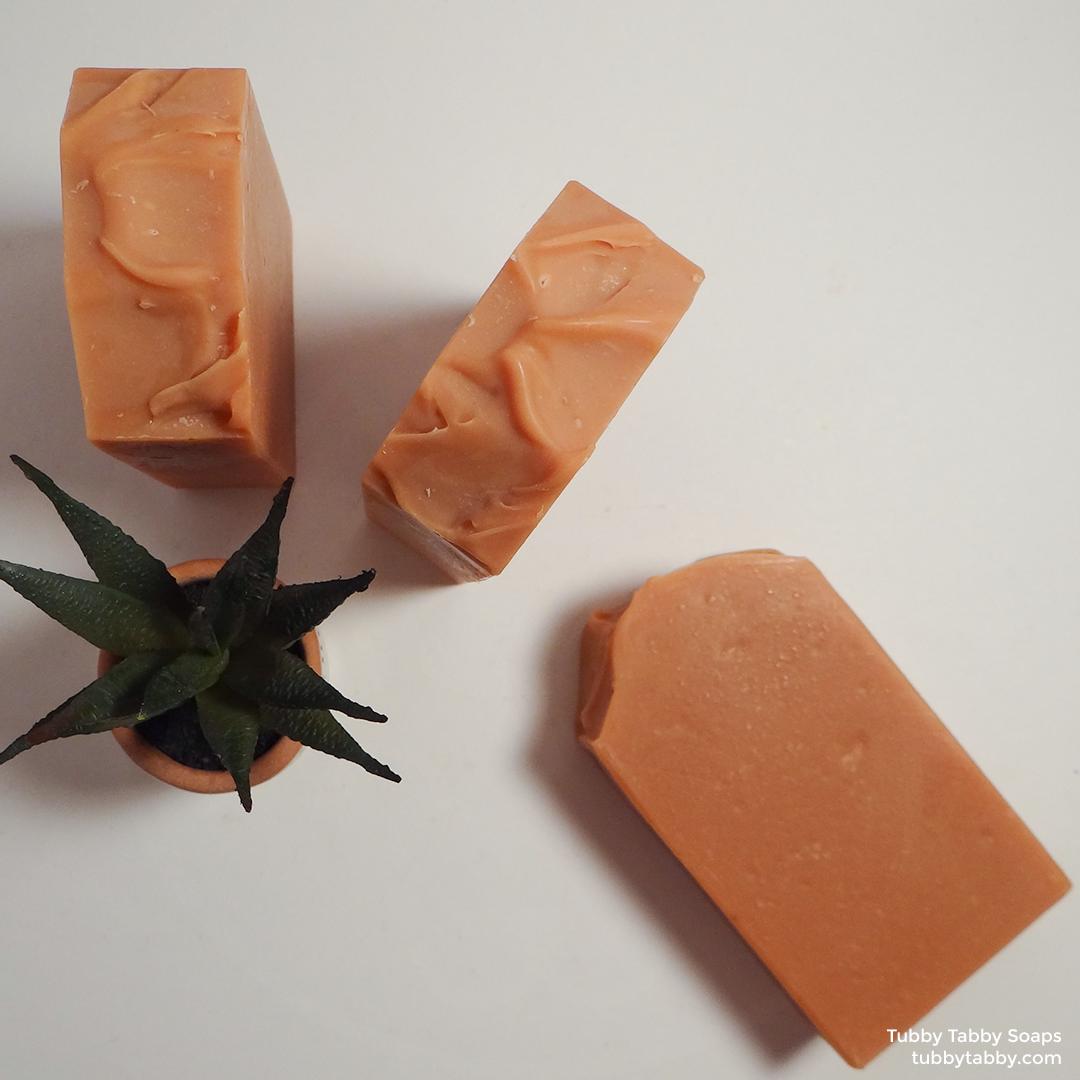 Clay Mug natural handmade soap by Tubby Tabby Soaps