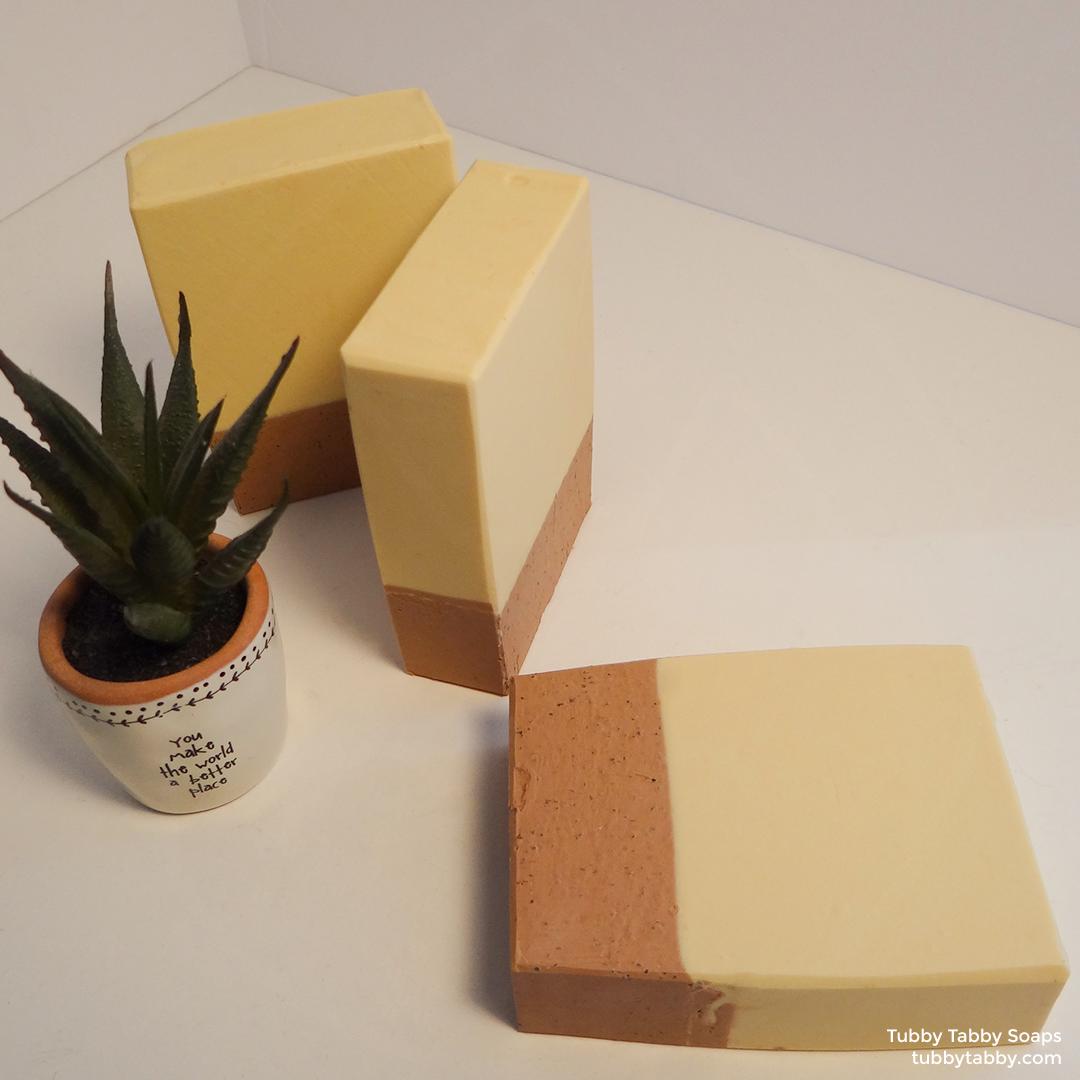 Dessert Island cute handmade soap on Tubby Tabby Soaps