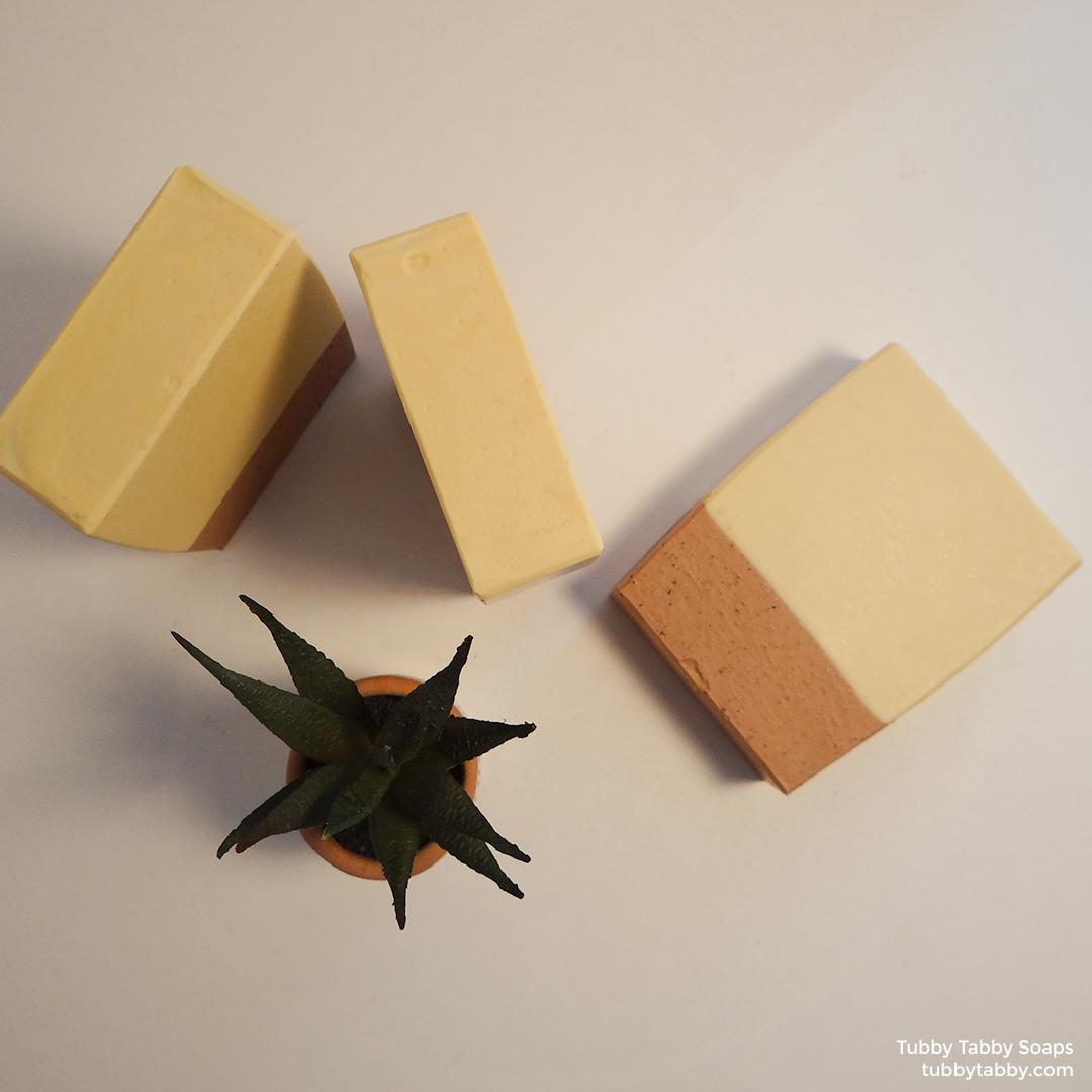 Dessert Island novelty handmade soap on Tubby Tabby Soaps