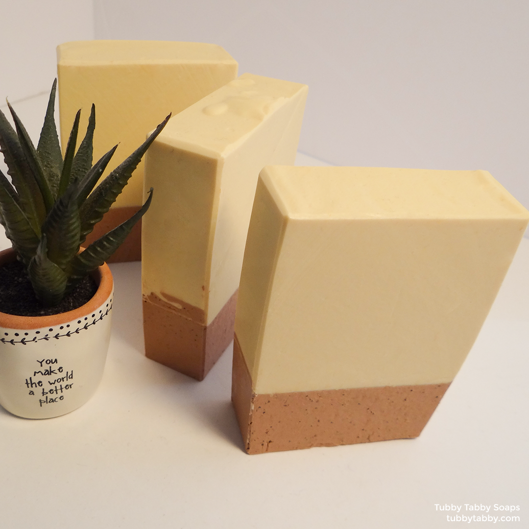 Dessert Island small batch handmade soap on Tubby Tabby Soaps