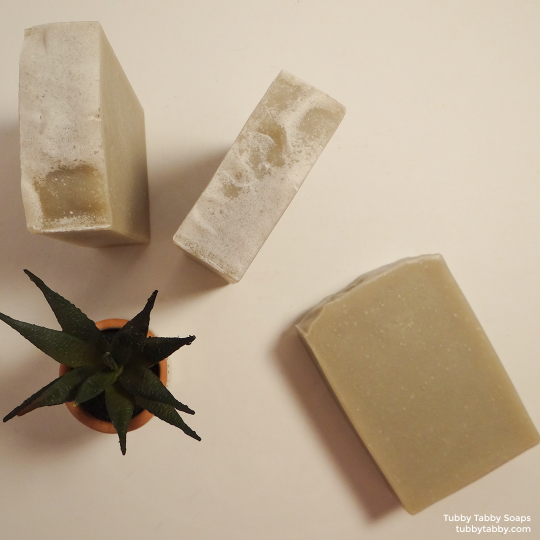 Wet Clay natural handmade bentonite clay soap by Tubby Tabby Soaps