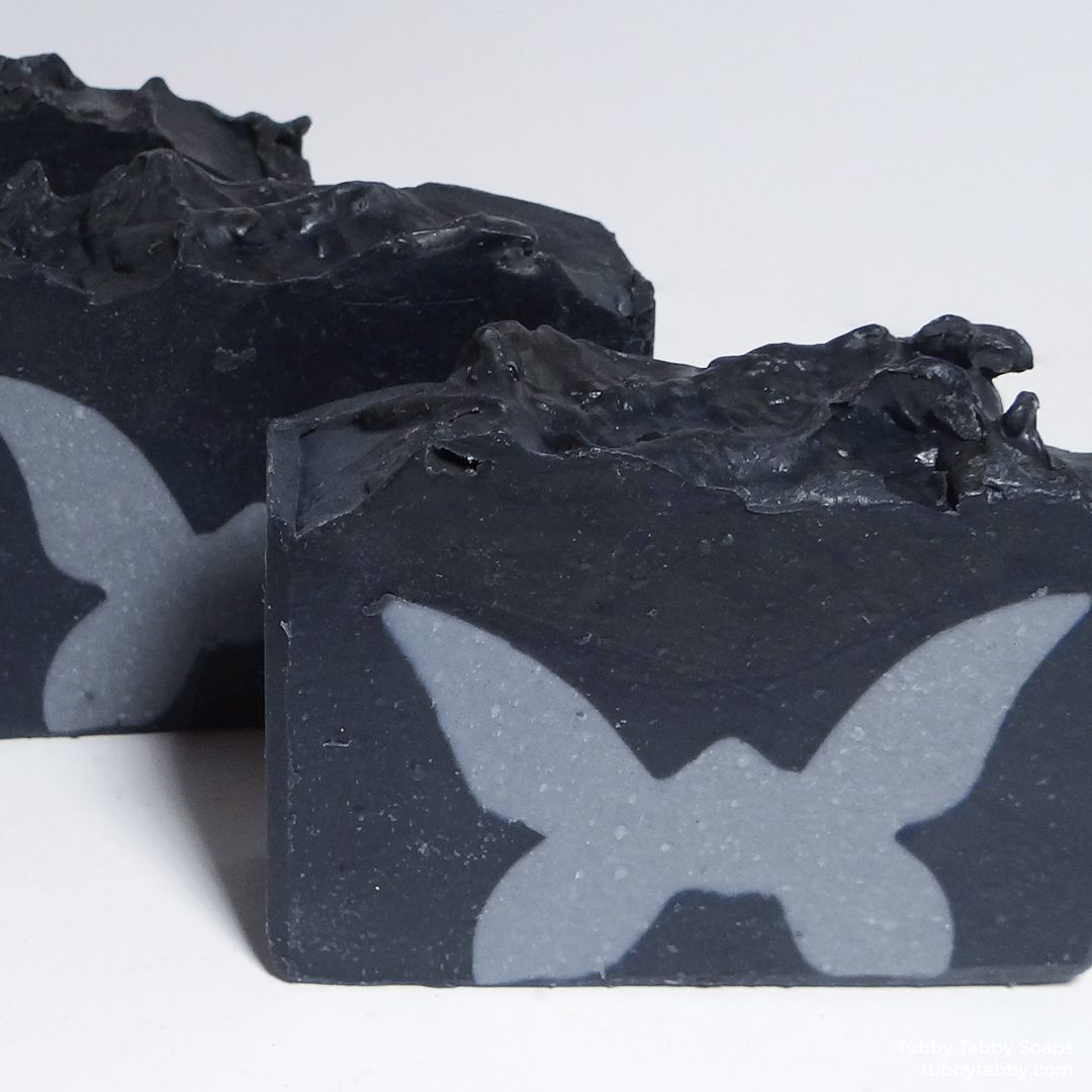 Moths in a Box artisan handmade soap (My Favorite Murder, MFM, SSDGM) by Tubby Tabby Soaps